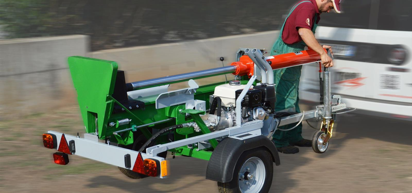 Vertical and Horizontal Log Splitters